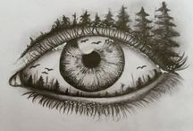 Dessins oeil