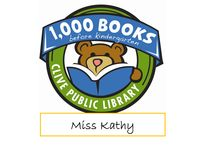 Miss Kathy 1,000 Books before Kindergarten