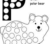Polar Bear and Polar Themed Early Learning Ideas / Find great early learning idea and printable for a polar and polar bear theme hear.  We also have a separate penguin themed page for you to enjoy.