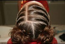 Hair / hairstyles we've done or will do on our girls / by Crystal Goodyear