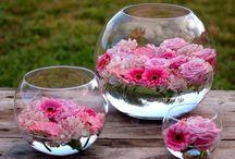 decora con flores fácil y lindo