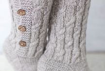 knitting socks / by June De Grote