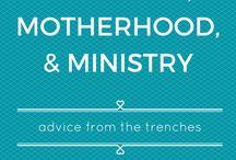 Ministry Motherhood Balance