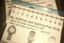 Addition and subtraction / by Larcy Brayfield