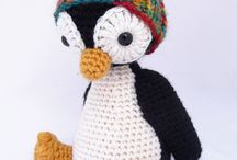 Christmas Crochet Penguins