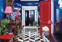 Lacquered Luxury / We feel lacquered rooms are just the thing to crate your glamorous interior.  Here is a collection to show you much we adore them and how we can create one or multiples for you as well.   / by Bryan Alan Kirkland Designs
