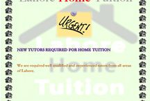 lahore home tuition / My board is about education.