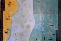 floorcloths / Painted floor coverings