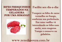 DICAS DE COZINHA