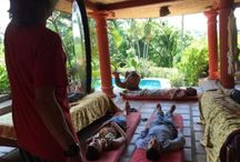 Gong Therapy / Gong Therapy, or Gong Bath Meditation, is offered daily at our facility for guests attending ayahuasca retreats.