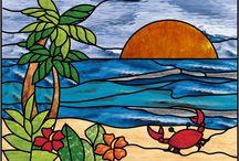 Stained Glass Beach/Ocean / by Nancy Arnall Gibaut
