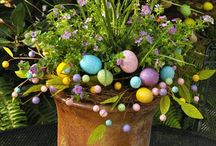 Front Yard:  Easter