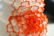 Orange, Peach, and Coral Weddings
