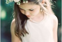 FLOWER GIRLS / Beautiful little girl dresses
