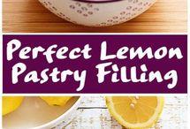 Lemon pastry filling