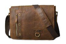 Messenger leather mans bag