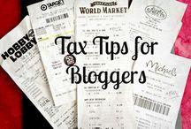 Work - Blog & Taxes