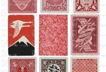 Poker cards / vintage poker cards