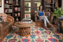 Inspiring Area Rugs / Rugs of all shapes and sizes, colors and patterns.