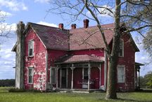 old houses / by Ron Moyers