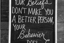 Quotes / by Cecilija Mazer