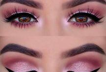 lashes ,make up