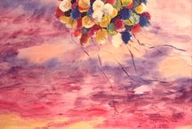 My artworks / Az én művészetem / Általam készített festmények, grafikák, és egyéb művészeti ágak által létrehozott alkotásaim. :)