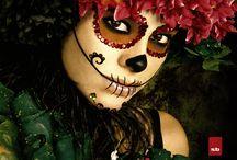Sugar skulls / Make up