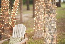 bahçe ışıkları