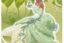 Disney Princess Trading Cards / Trading cards for different Disney Princess characters.