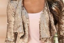 Fashion casual chic luxury bling