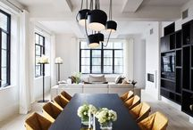 Dining / Dining rooms / dining tables / lighting