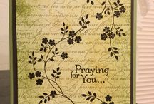 Stampin Up Thoughts and Prayers