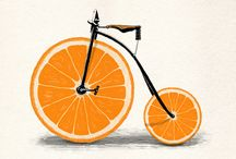 easy bike illustratios