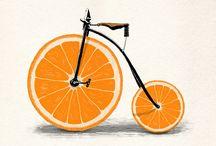 easy bike illustratios