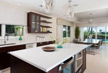 » Bella Lago Family Home project by Liberty Designs « / Amazing family residence with custom-made lighting and furniture, including VG Arabesque Egg pendant lighting | Location: Cayman Islands | Project by Liberty Designs - Cornerstone Group