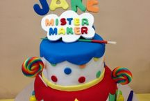 Mister maker arty party ideas