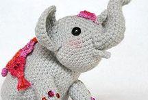Elephant chrochet pattern