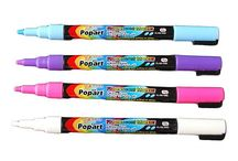 Pens markers and pencil crayons