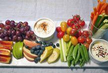 Snacks og frukt