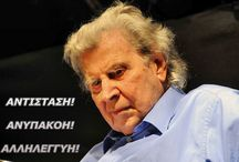 Mikis Theodorakis / It' s about greek composer and politician Mikis Theodoakis.