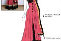 Dress layout