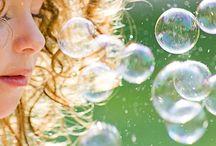fun...blowin' bubbles... / beautiful bubbles / by Debbie Young
