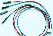 I2C Bus Wires / Wires are used for linking between i2c bus boards and between microcontroller board and i2c bus board.