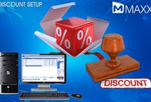 Discount Setup /  Discount plays a major role in all the businesses especially during occasions. MAXX provide this feature to its users so that the users can set the default discount rates in product master as well as in account master... http://maxxerp.blogspot.in/2013/11/discount-setup-discount-plays-major.html