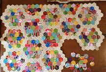 Quilts - Hexies / by Karen Thompson