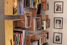 bibliothèque étagère