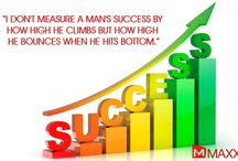 Quote-24-01-14 / I don't measure a man's success by  how high he climbs but how high  he bounces when he hits bottom..... http://maxxerp.blogspot.in/2014/01/i-dont-measure-mans-success-by-how-high.html
