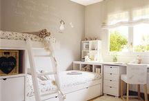 Room girls | Quarto de menina / by Casa de Estar