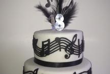 music. cake
